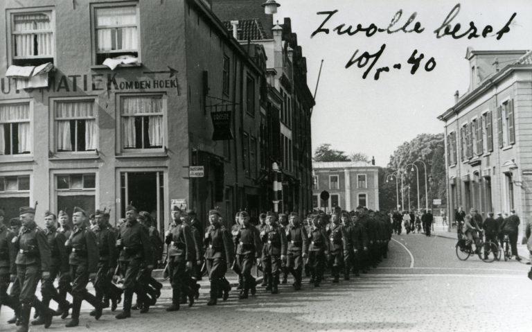 Binnenvallen Duitse soldaten