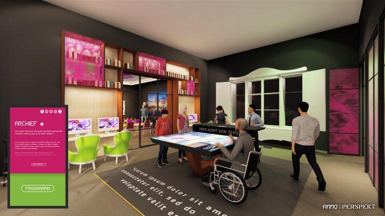 ANNO geeft inkijkje in plannen voor het nieuwe museum