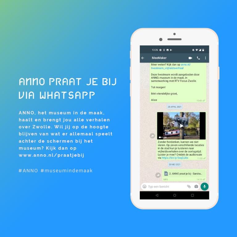 WhatsApp service van ANNO