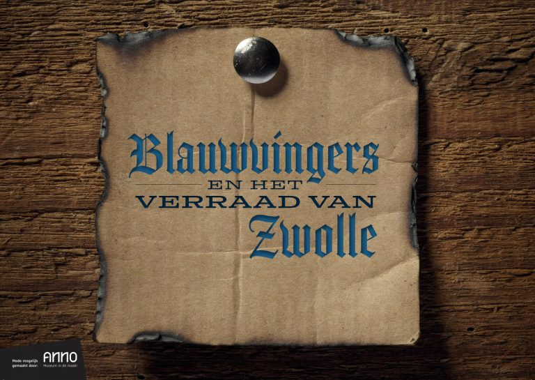 De Blauwvingers en het verraad van Zwolle