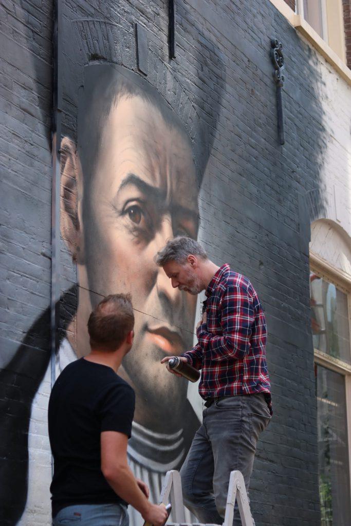 muurschildering thomas a kempis